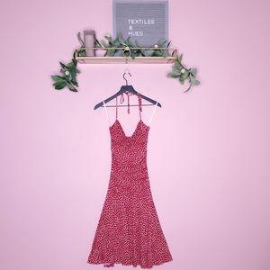 Betsey Johnson Vintage Heart Print Knit Sundress